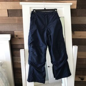 Lands End Kids Radiant Navy Squall Snow Pants